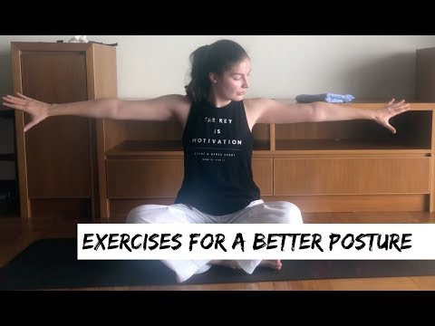 Exercises For a Better Posture