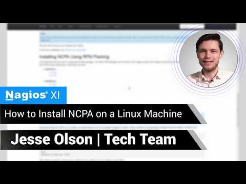 Nagios: Installing NCPA (Nagios Cross Platform Agent) on a Linux Machine