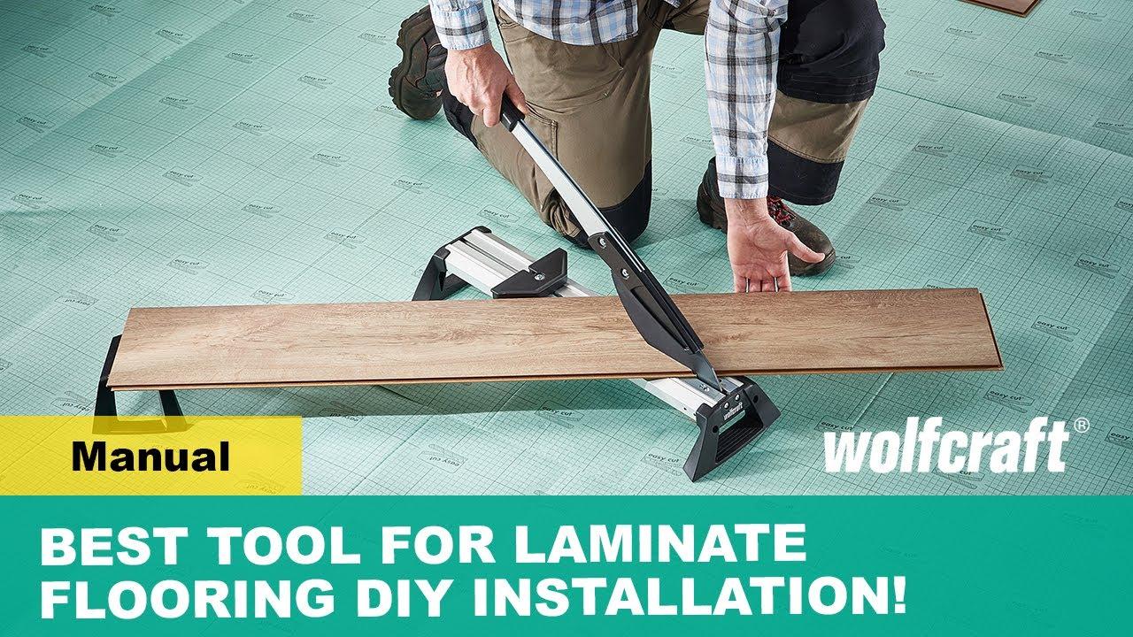Laminate Flooring Installation, Wolfcraft Laminate Flooring Cutter