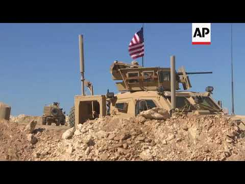 US troops on operations in Syria, reax to Trump comments