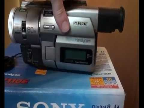 Sony DCR-TRV110E TWAIN 64 BIT