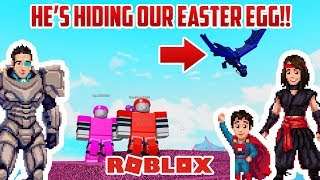 Roblox: HAPPY EASTER! This DRAGON Stole Our EGG!