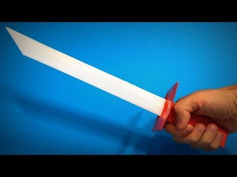Origami Sword | How to Make a Paper Sword Samurai Ninja Weapons | Easy Origami ART | Paper Crafts