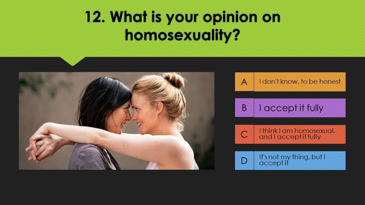 Sexuality test of Sexual Orientation