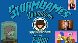 F-Box Matt Groening Unboxxing!!