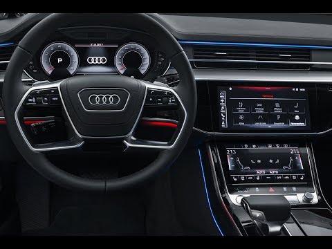 Audi A8 - Virtual Cockpit und völlig neuartiges MMI Touch response (2017)