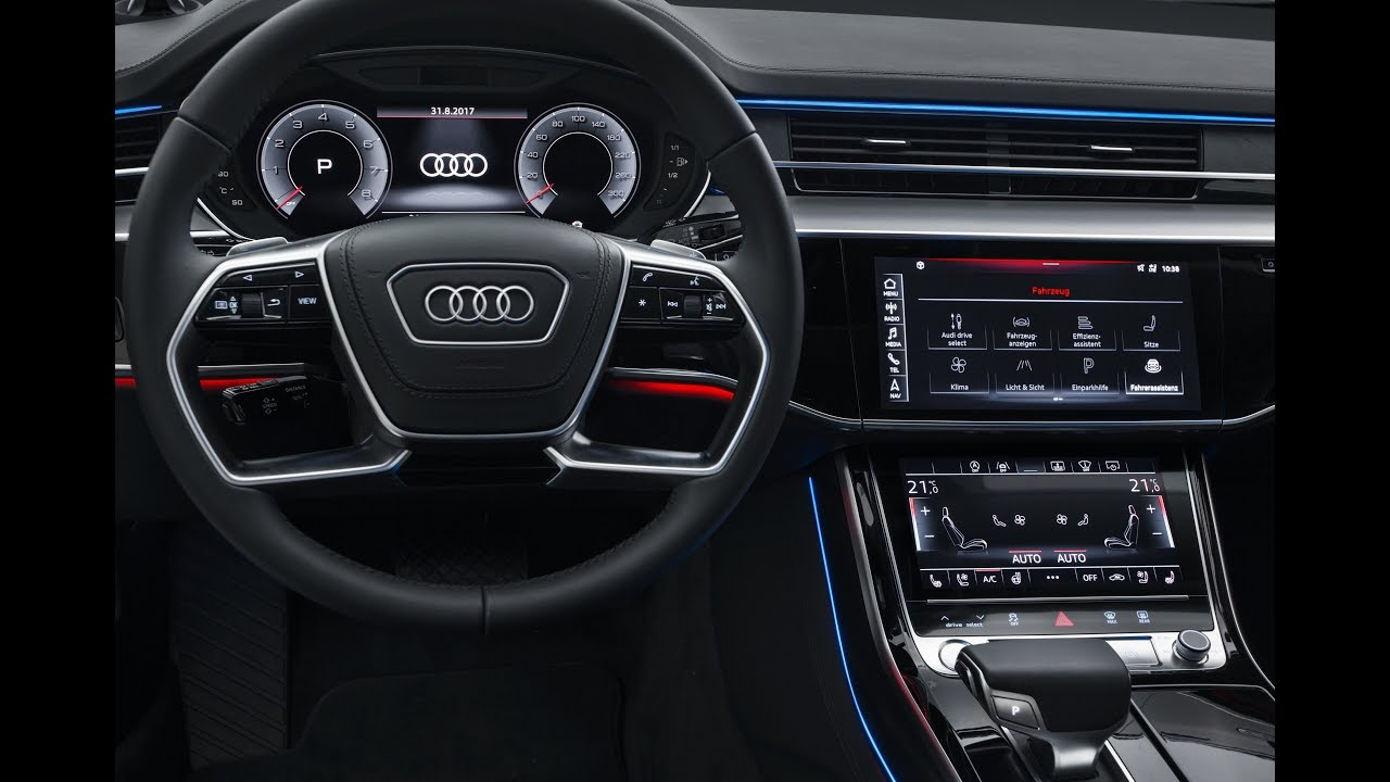 Audi A8 Virtual Cockpit Und V 246 Llig Neuartiges Mmi Touch