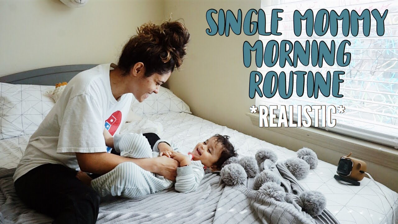 single-mommy-morning-routine-realistic