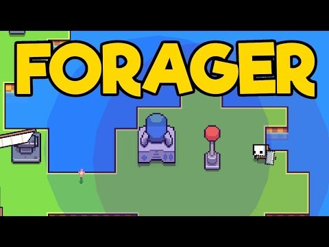 Forager Gameplay  Impressions #4 - THE MINING ROD!!