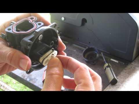 Briggs and Stratton 550EX Carburetor Repair Part 2