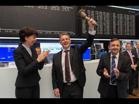 Börsengang (IPO) der va-Q-tec AG   Börse Frankfurt