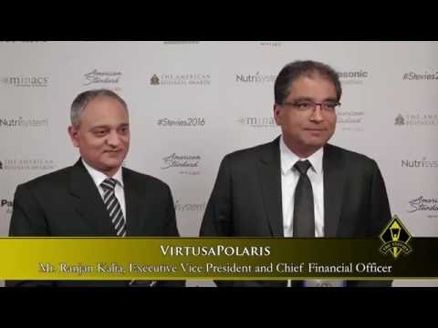 VirtusaPolaris Receives Stevie Award Recognitions for Investor Relations and Technical Innovation