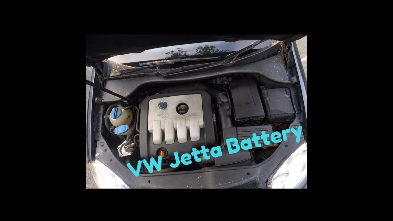 2006 vw jetta tdi battery replacement