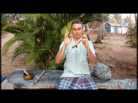 Как научится играть на флейте бансури от Дайасар.