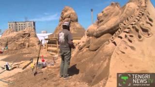 видео Песок Алматы