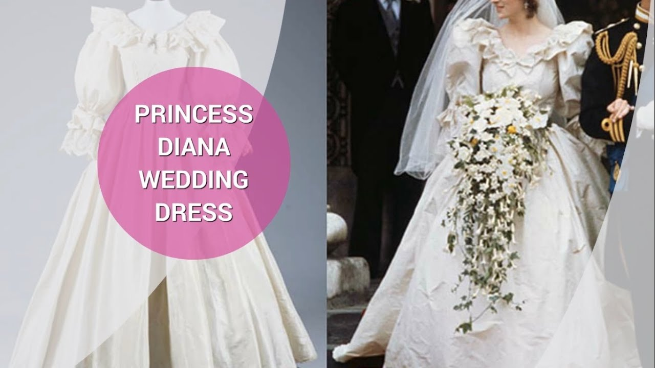 Princess Diana Wedding Dress - YouTube