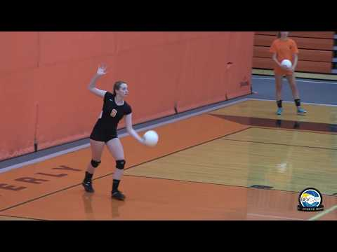 Beverly vs Salem High School Volleyball