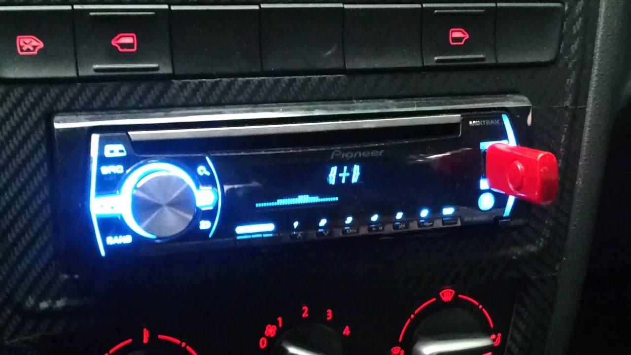 Pioneer Mixtrax Bt Novo Gol G6 Morcegao