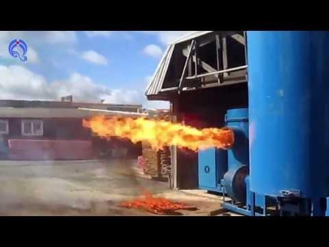 Industrial wood pellet combustion furnace, sawdust industrial furnace, industrial saw dust burner