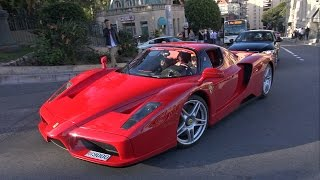 Ferrari Enzo - Exhaust Sounds in Monaco!