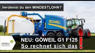 GÖWEIL G1 F125 Press Wickelkombination im Landwirt-Media.com Praxistest - Göweil Presse kaufen?
