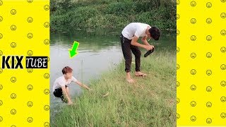 Watch keep laugh EP523 ● The funny moments 2019