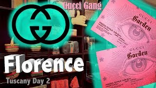 GUCCI GARDEN FLORENCE Tuscany vlogs Day 2