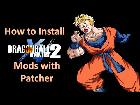 DBXV2 | How to Install Mods Easily by Drag & Drop | xv2 patcher