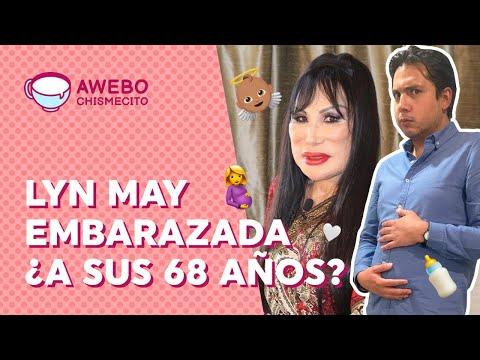 Lyn May y su EMBARAZO a los 68 años de edad ¿FARSA PUBLICITARIA? | Awebo Chismecito