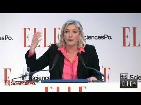"""ELLE Présidentielle 2012 : Marine Lepen : """"Oui à l"""