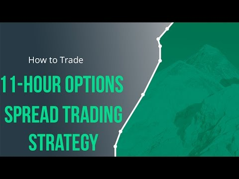 11 Hour Options Spread Trading Strategy