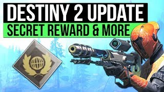 Destiny 2 news | secret veteran reward, exotic wardif coil, new social space, sparrow racing & more!