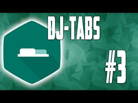 DJ Tabs - настройки стилей #3