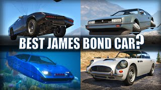 GTA V - Which is the best James Bond car?