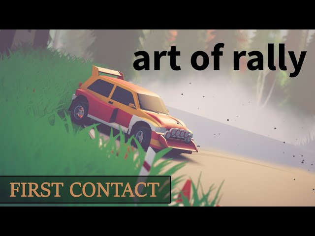 [FR] art of rally - First Contact - Elle est belle ma 205