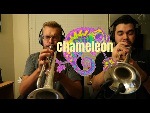 🎧Chameleon - Trumpet/Trombone Cover   Antonio Cabrera & Danny Welsh