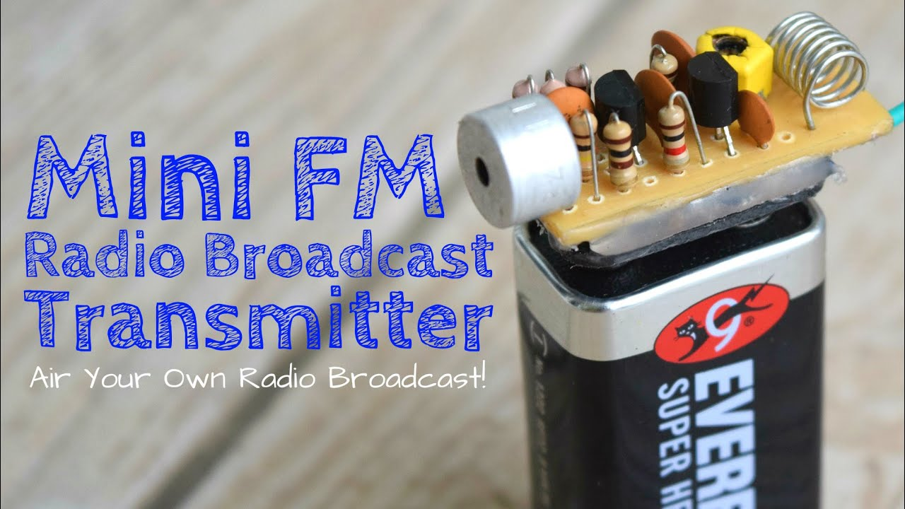 Build A Long Range FM Transmitter (Spybug)  YouTube