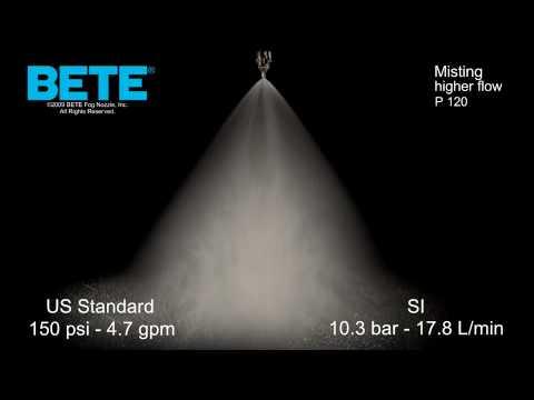 Misting Nozzles: BETE P 120