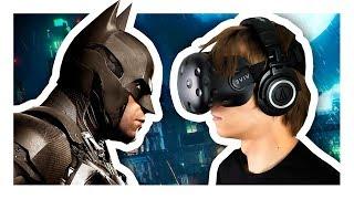 Я СТАЛ БЭТМЕНОМ. |  Batman Arkham VR - Часть 1