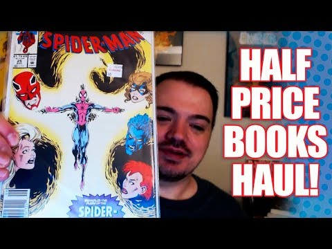 Half Price Books Haul: Books, Comics and More!