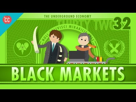 The Underground Economy: Crash Course Econ #32