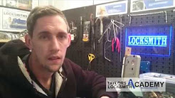 John on Locksmith Training with Taylors Locksmith Academy in Gateshead