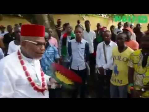 THIS VIDEO OF ODUMEGWU OJUKWU AND NNAMDI  KANU WILL BLOW YOUR MIND