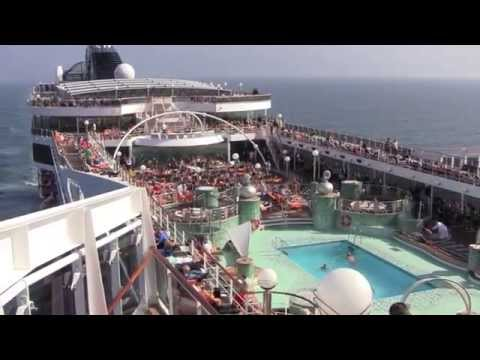 Cruise Ship Review: MSC Magnifica (3 day mini-cruise from Hamburg to Southampton) - September 2014