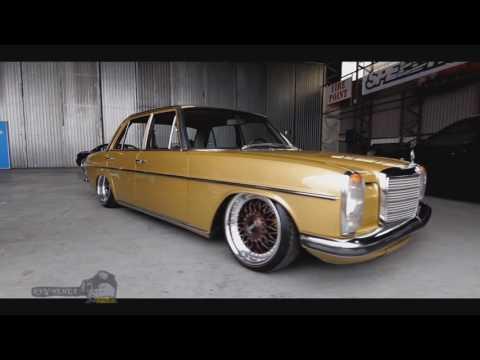 The Mercedez  Classic Car Showroom