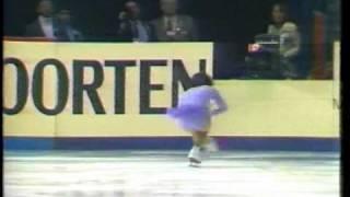 伊藤みどり 世界選手権1984 SP&FS.wmv  Midori Ito