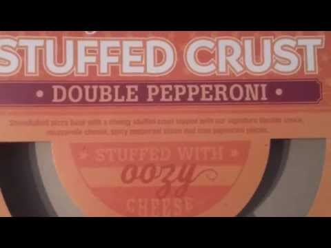 Co-op double pepperoni stuffed crust pizza review