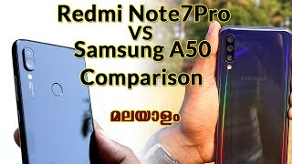 Samsung A50 VS Redmi Note7Pro COmparison Malayalam
