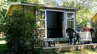 Camping Yelloh Village Saint Emilion - Cabane 4 personnes - camping Gironde - camping Aquitaine