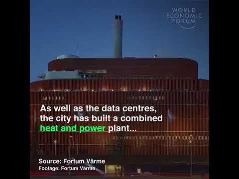 Heating homes using waste energy from the internet - Data parks